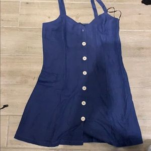 Adorable Zara blue dress